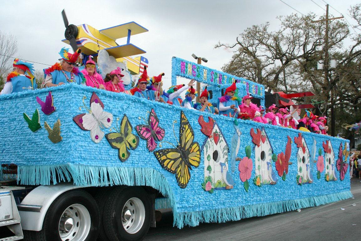 Elks Orleanians and Crescent City Mardi Gras Parades